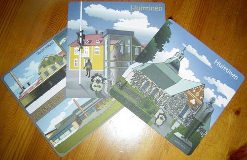 Huittisten kotiseutuyhdistys postikortit